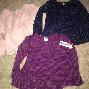 Girls 18-24 month old navy cardigans